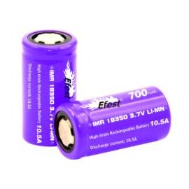 Accus Efest Purple 18350 700 mah