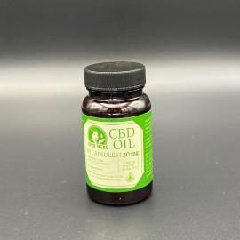 Sensi seeds CBD huile 60 capsules - 20 mg