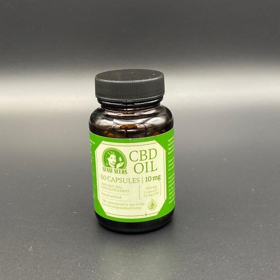 Sensi seeds CBD huile 60 capsules - 10 mg