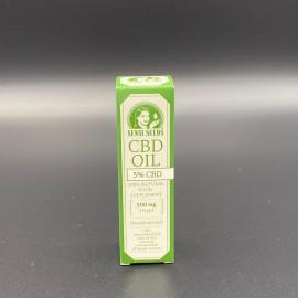 Sensi seeds CBD huile 10 ml - 5 %