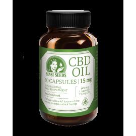 Sensi seeds CBD huile 60 capsules - 15 mg